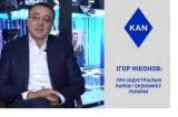 Украине нужны такие точки роста, как индустриальные парки - Игорь Никонов