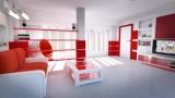 Красный цвет в интерьере: сочетание цветов, выбор цветов, интересные идеи, фото